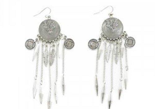 Earrings vintage dangle