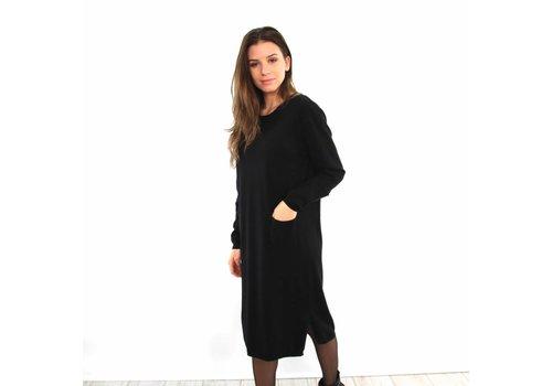 SHK black sweater dress