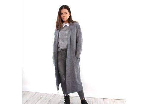 Lulu cardigan grey