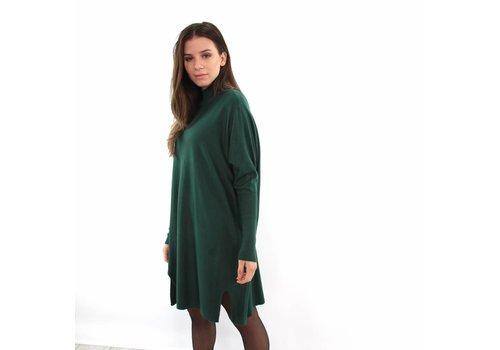 Kilky long sweater dress green