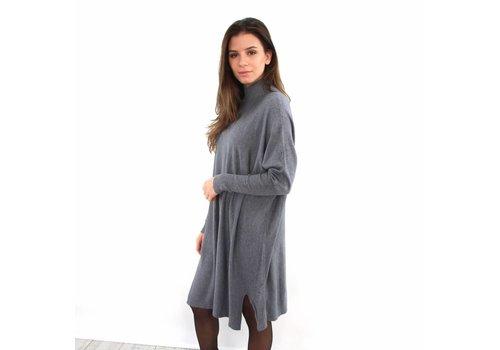 Kilky long sweater dress grey