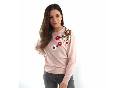 Zeza flower top pink