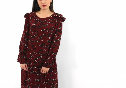 Akoz Leopard all the way dress