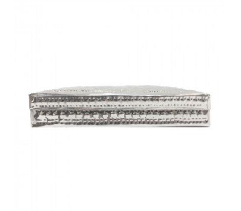 Aluminium doosje plat set 2