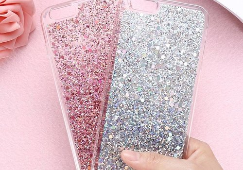 Iphone 7 case glitter