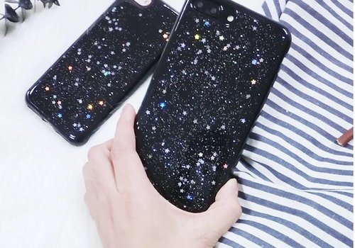 Iphone 6s case glitter stars