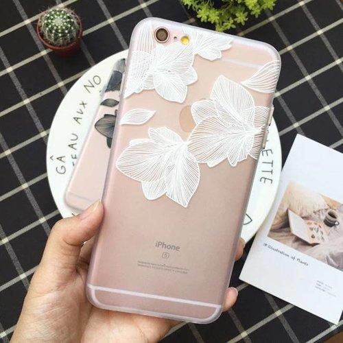 Iphone 7 plus case  flower love