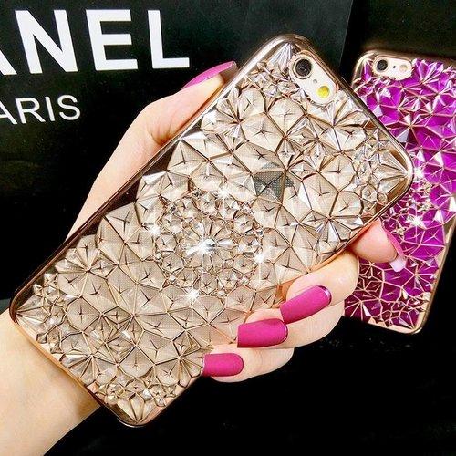 Iphone 6s case rose diamant