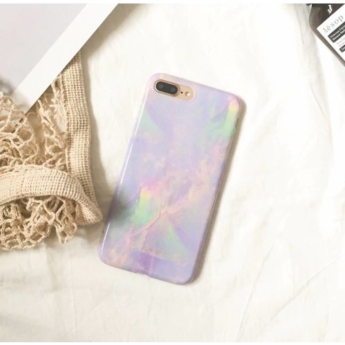 Iphone 7 case marble love