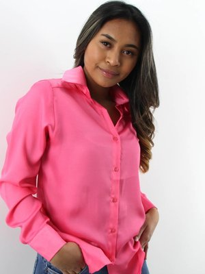 Turqouise by Daan Satin Dream blouse