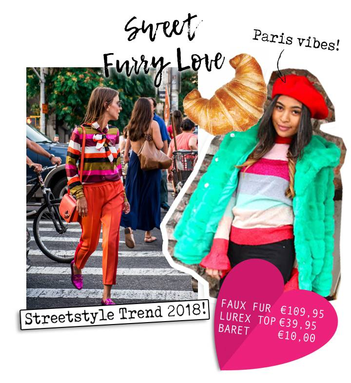 Straight from the streets in to your closet: Rainbow trend
