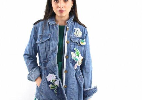 Miss Koo Free bird denim jacket