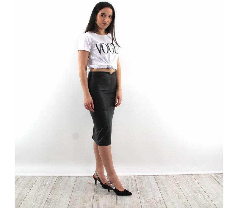Pencil skirt black