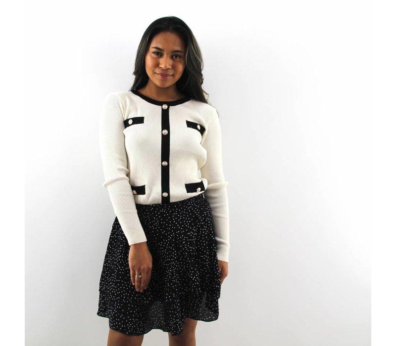 CC jumper white