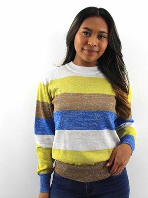 Nicole Glitter stripe jumper
