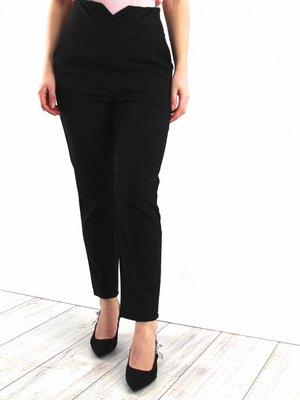 Lucy Wang High V pants black