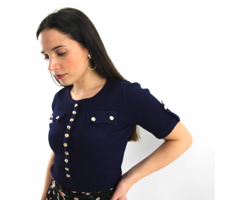 Esther jumper dark blue