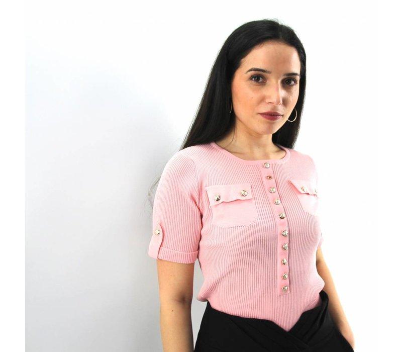 Esther jumper pink