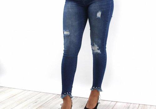 Queen Hearts Always pearl jeans