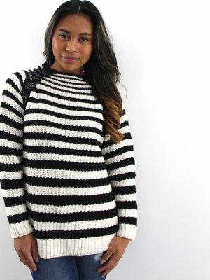 Drôle de Copine Lace stripes
