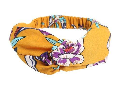 Yehwang Headband happy flowers