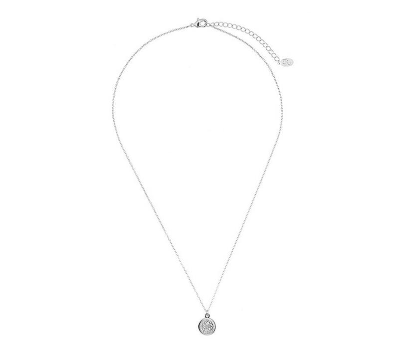 Ketting Sweet Coin silver