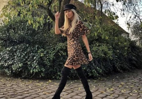 Vera & Lucy Cute panter dress