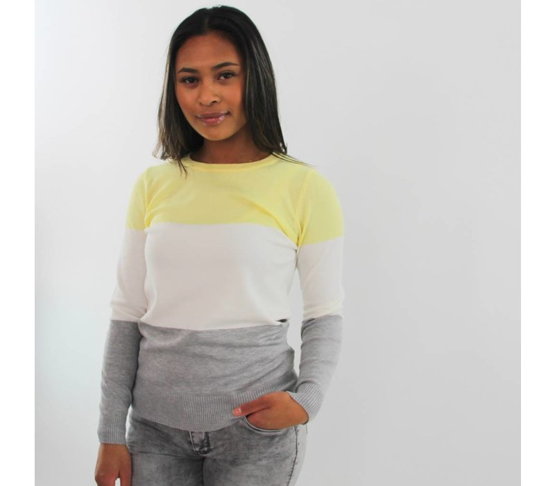 Ice cream yellow jumper