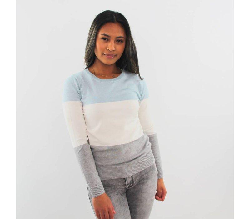 Ice cream blue jumper