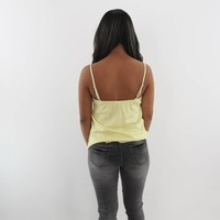 Go with the flow top yellow