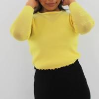 Lemon jumper