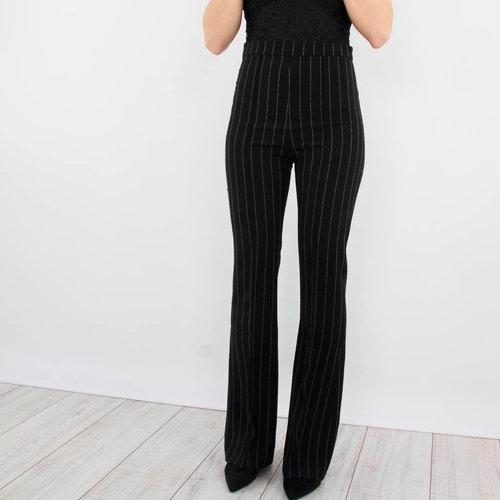 Ivivi Busy striped flared pants
