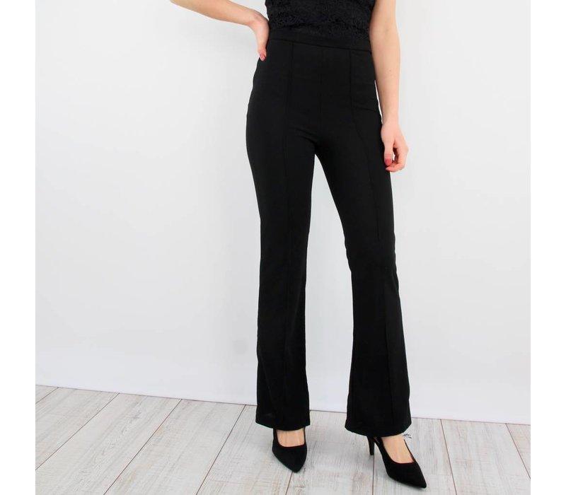 Forever classy flared pants black