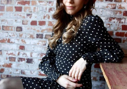 Vera & Lucy Soraya dots dress