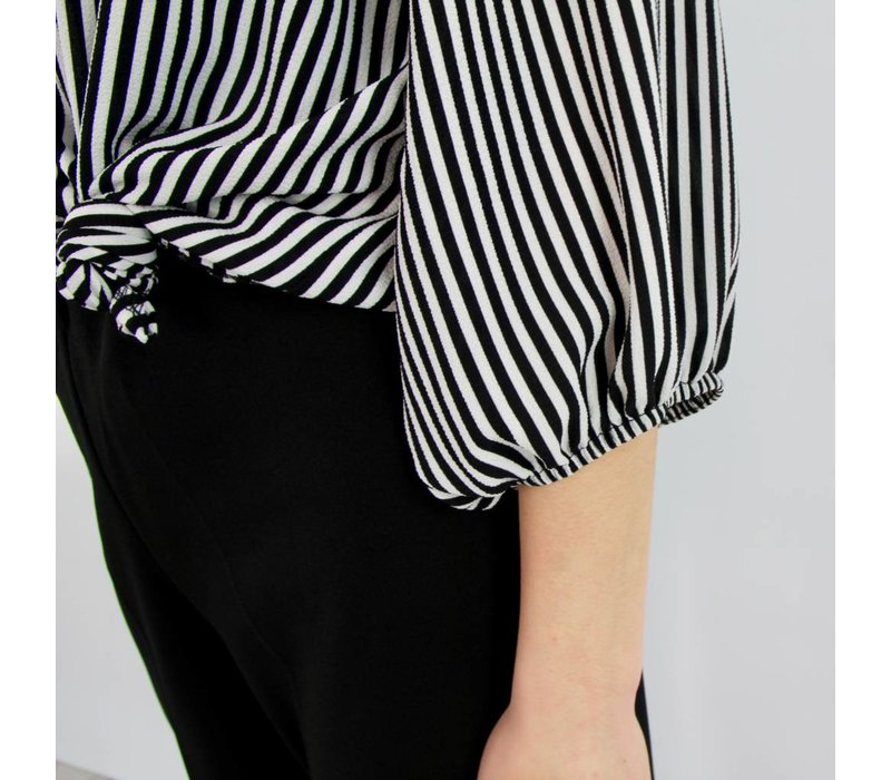 Proud of you striped blouse