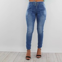 Baggy baby jeans blue