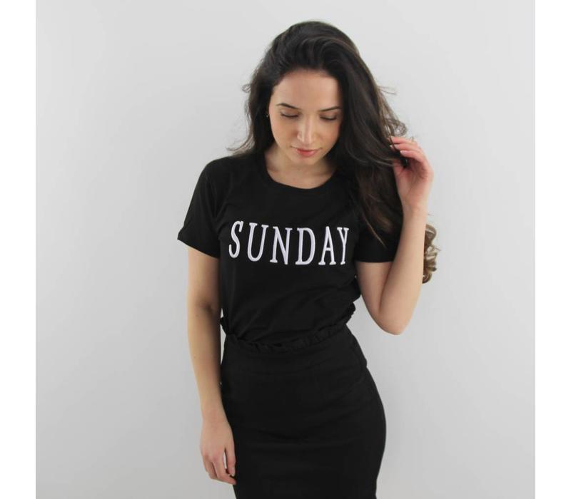 Sunday t-shirt black