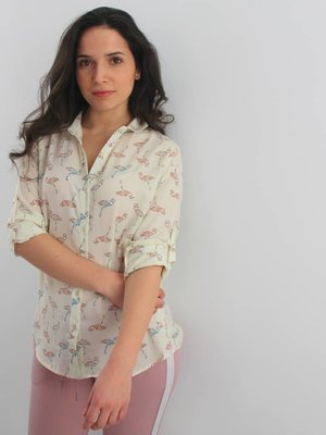 By Clara Flamy blouse