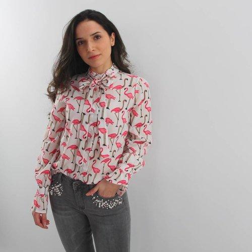 Cherry Koko Flamy blouse