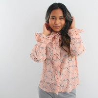 Flamy blouse old rose