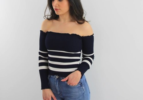Only Fashion Off top striped