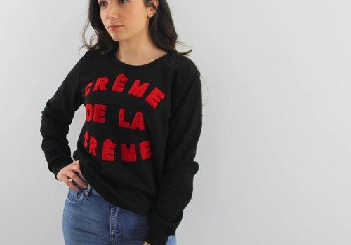 Beauty Fashion Crème de la crème sweater