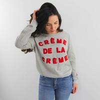 Crème de la crème sweater grey