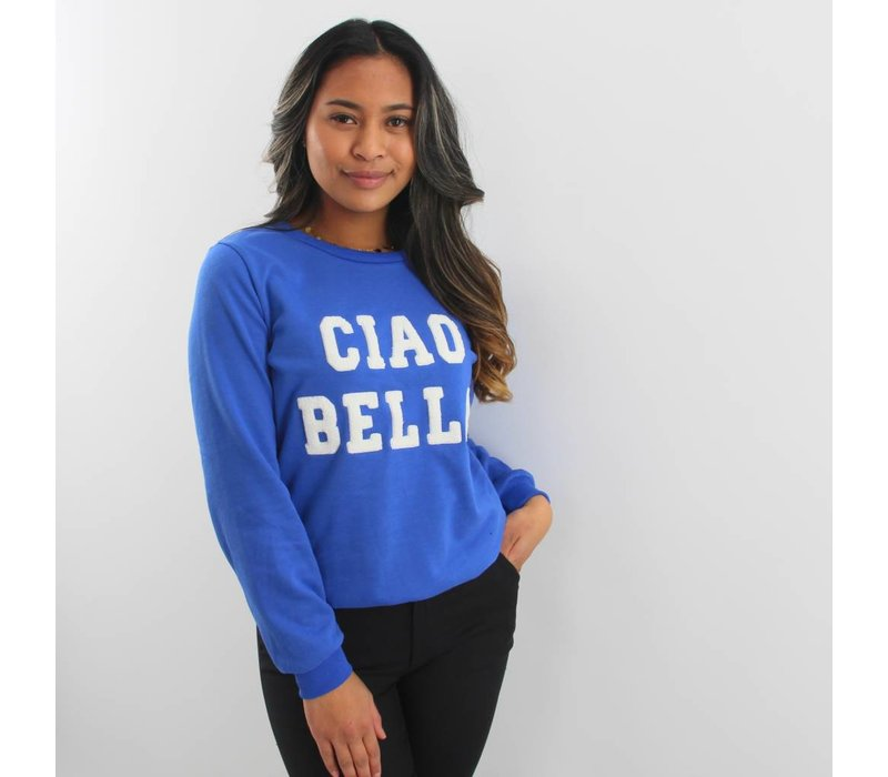 Ciao bella Francesca sweater blue