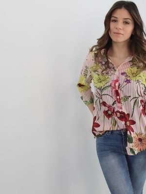 Exquiss's Hyper flower blouse