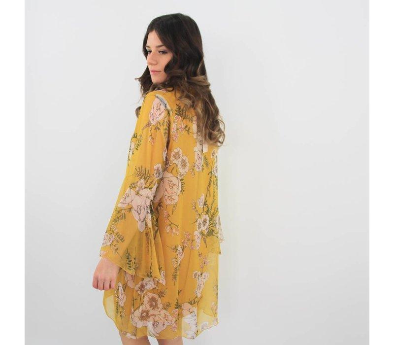 Smile at me flower dress