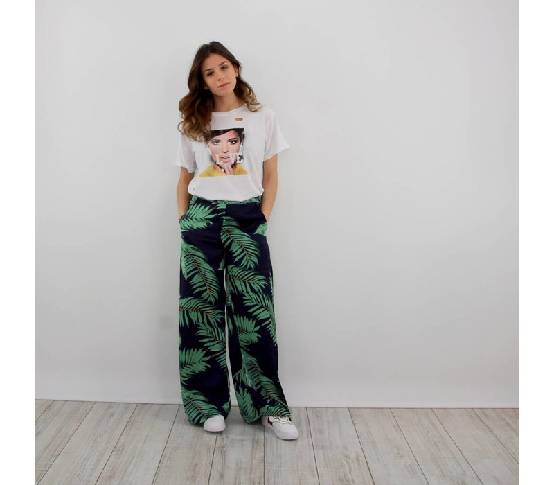 Big leaves pants
