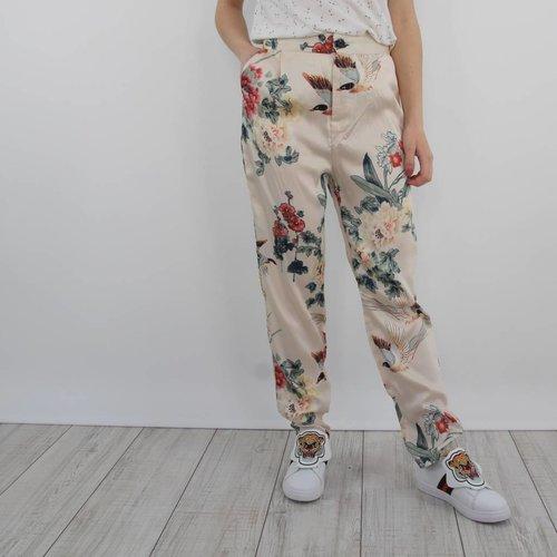 Akoz Sunday flower pants
