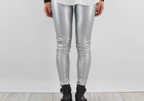 Yu & Me Sparkle silver legging