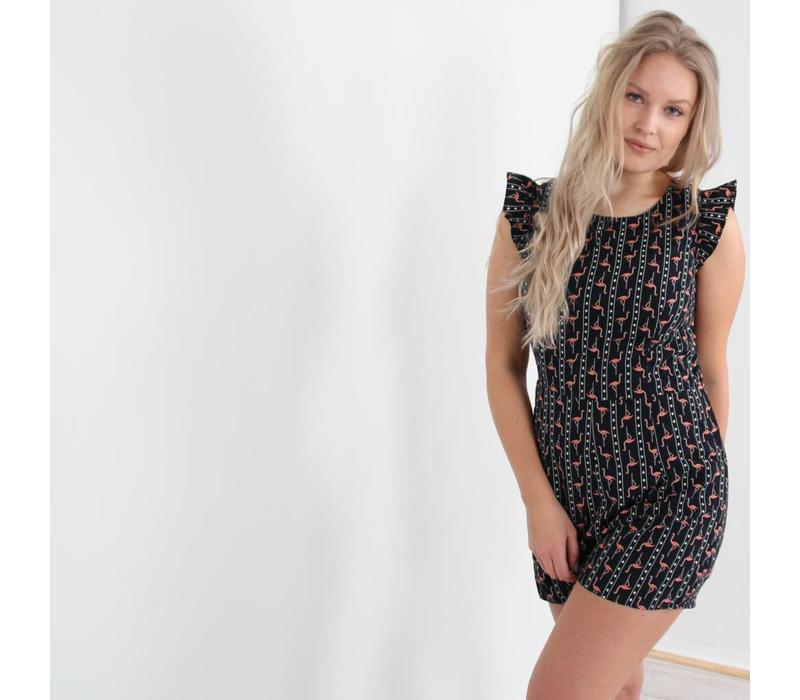 Flamy playsuit